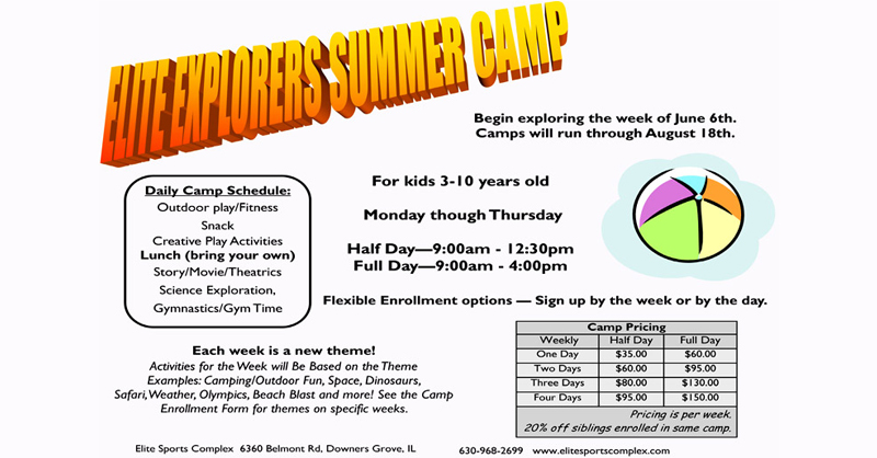 Great Escape Summer camp